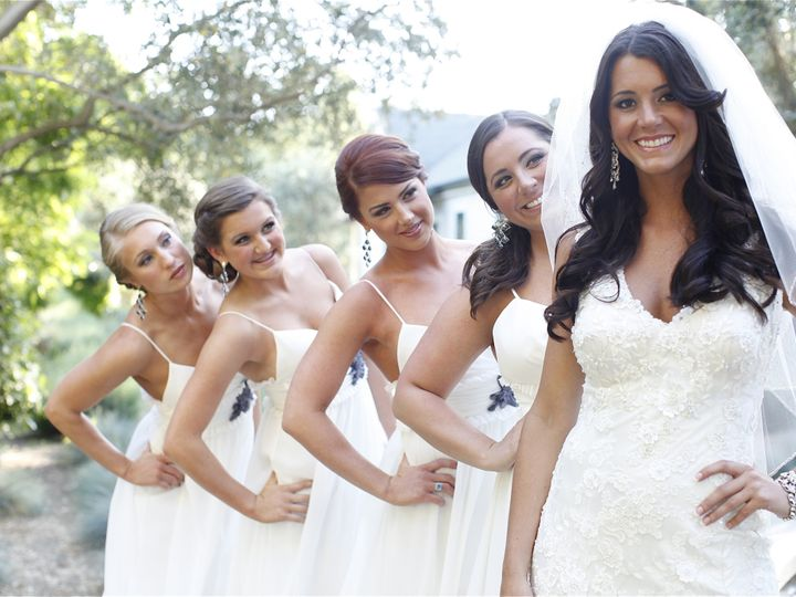 Tmx 1390609945619 Bridesmaids And Bride 2 Costa Mesa wedding beauty