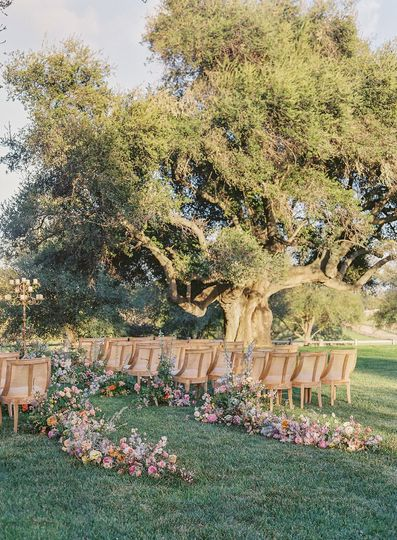 Ceremony on the Wedding Lawn