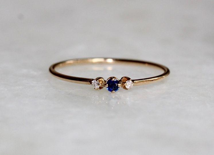 Hint of Blue Sapphire