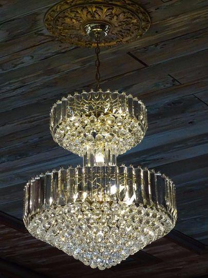 Opulent chandelier