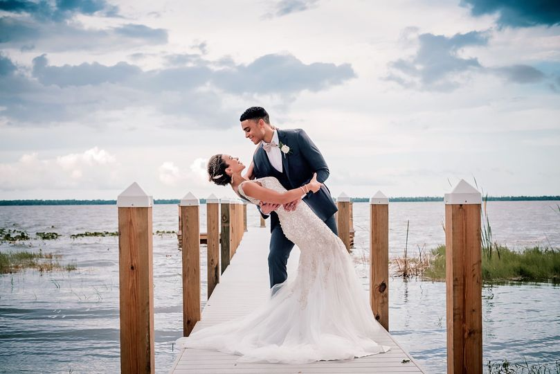 Couple on 80ft Dock