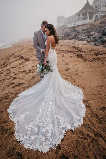 Plum island wedding