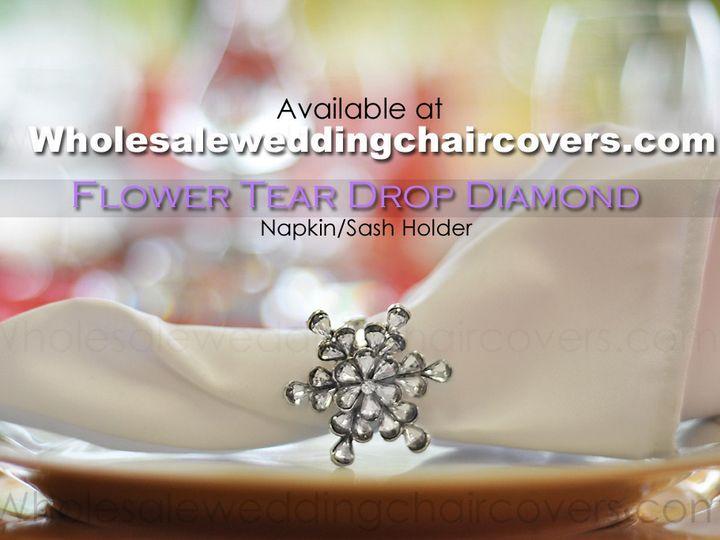 Tmx 1402497161992 Napkin Flower Ring Holder Copy Orlando wedding rental