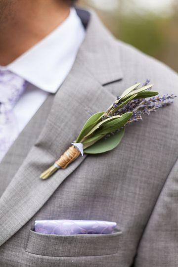 The groom portrait