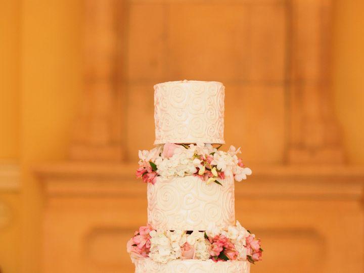 Tmx 4 Tier Rd Buttercream W All Over Ragged Swirl Piping Fresh Flower Separators On Silver Plateau 51 1904705 157867644491735 Garland, TX wedding cake