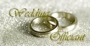 Wedding officiant banner