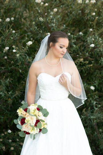 Bridal at the trump winery