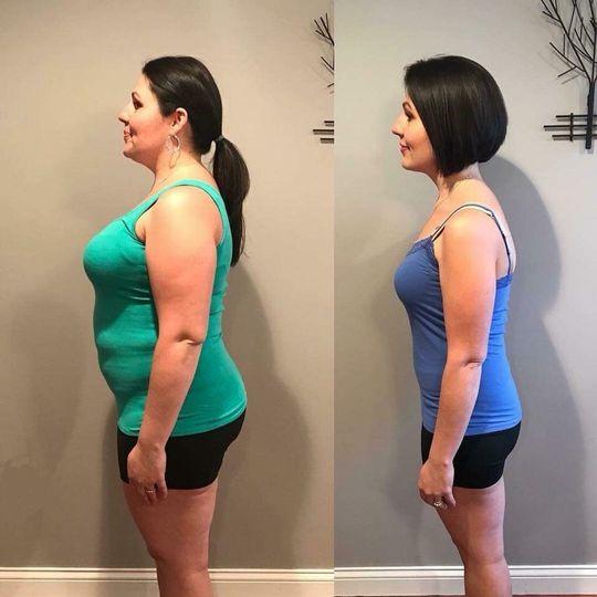 Tiffany, lost 60 lbs