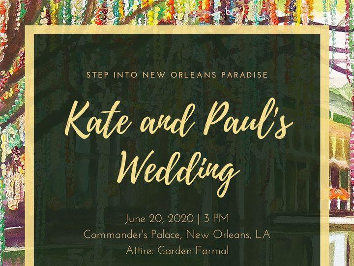 Tmx Beads Invite 3 51 985705 158488857097376 New Orleans, LA wedding invitation