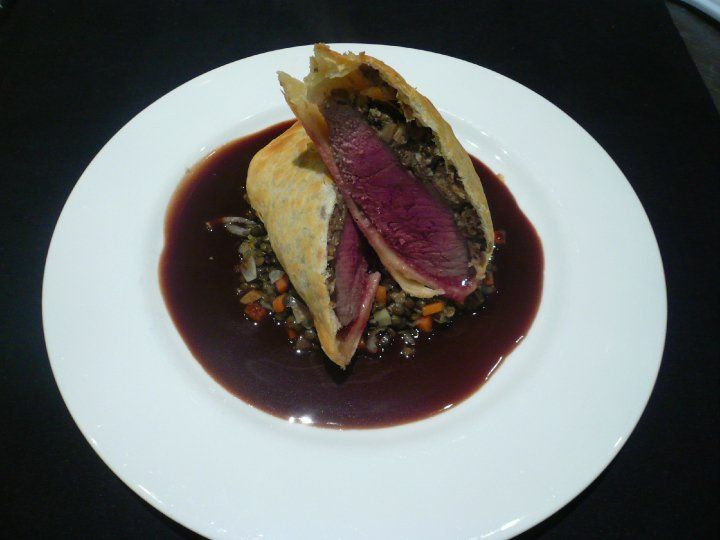 Alchemy lamb wellington
