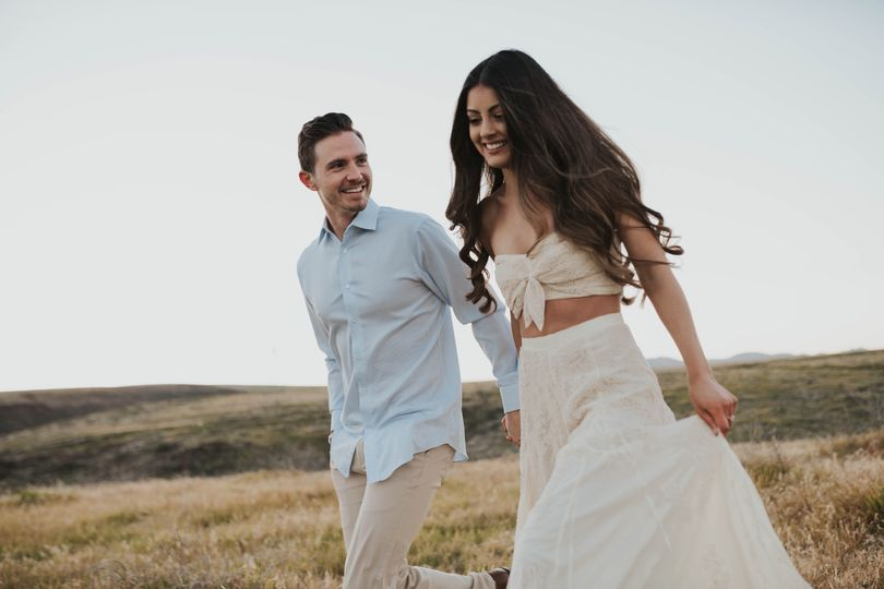 AZ sunrise engagement session