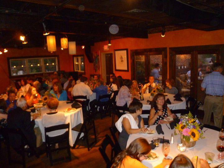 sixty person seated dinner