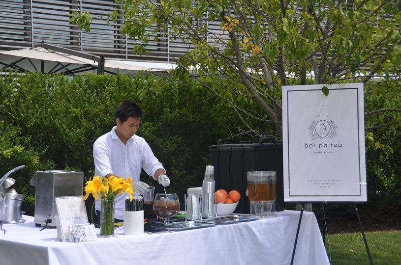 Catering at the hamptons