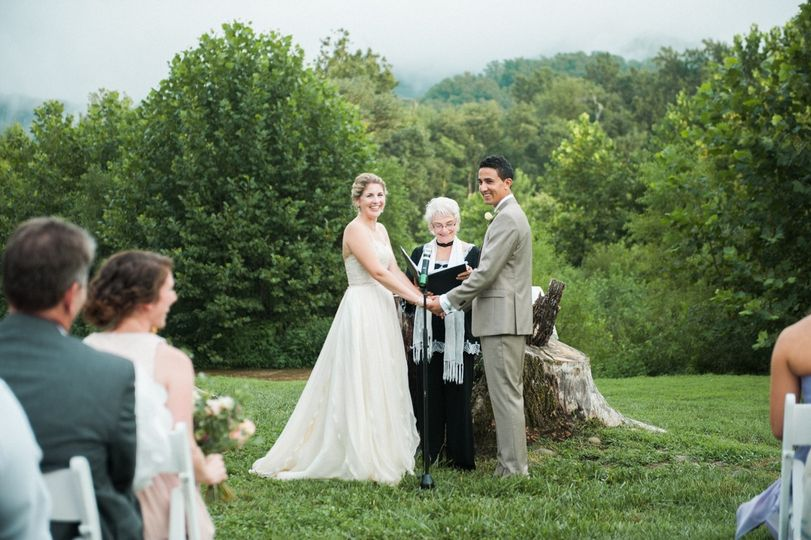 Bold rock cider wedding