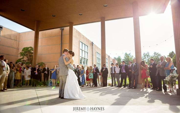First Dance on the Portico! Jeremy Haynes Photography