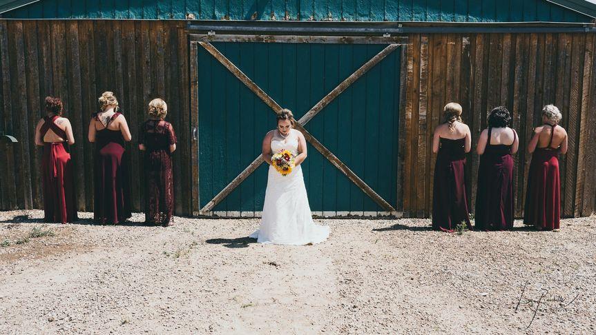 Spot light on Beautiful bride