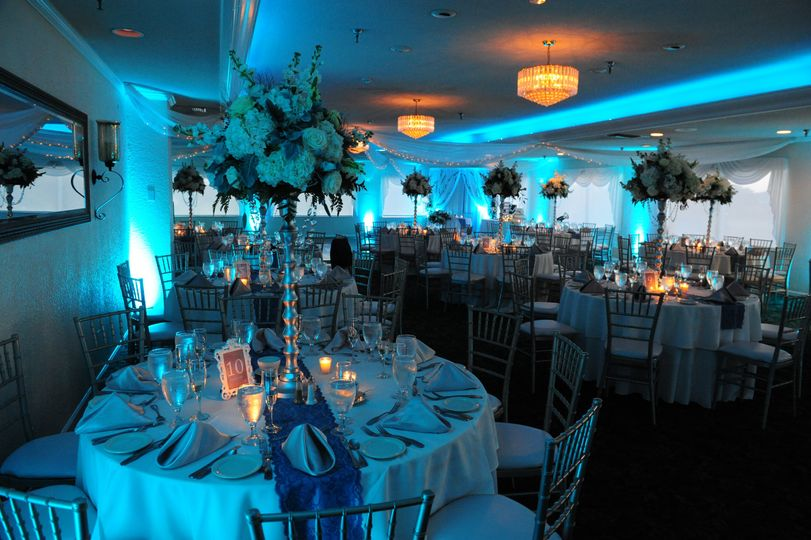 Diamond Room Wedding Reception
