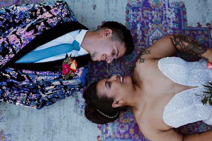 Bride and Groom Las Vegas