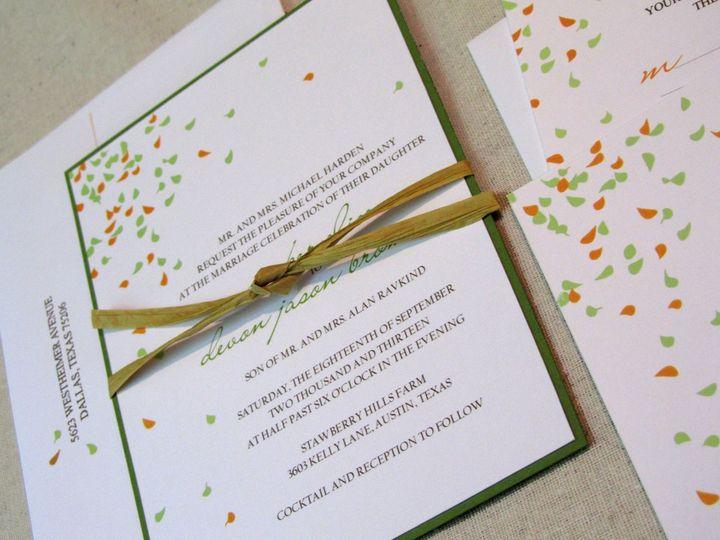 Tmx 1338816400109 Invitewithtie Dallas wedding invitation