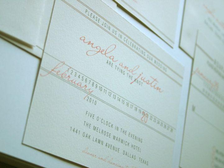 Tmx 1338816426264 1 Dallas wedding invitation