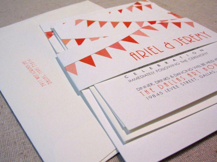 Tmx 1338816455753 INVITEANGLE2 Dallas wedding invitation