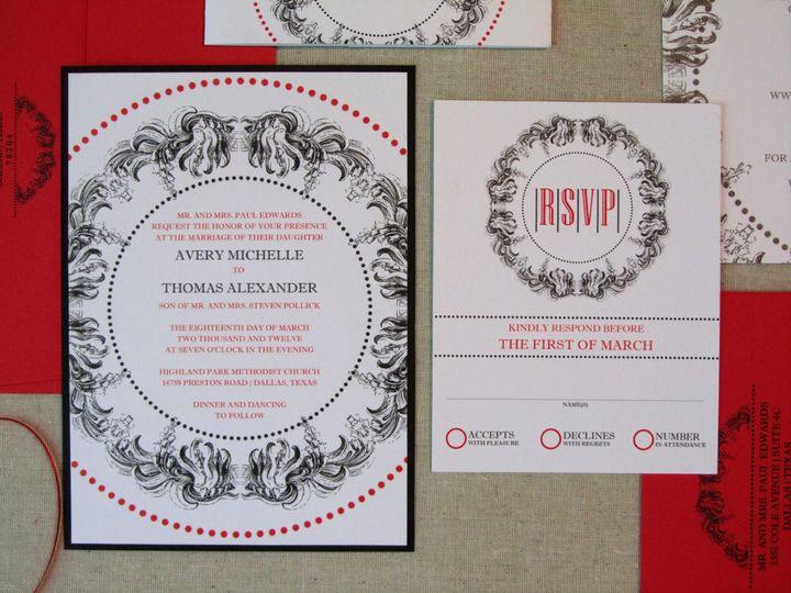 Tmx 1338816491585 INVITERSVP Dallas wedding invitation