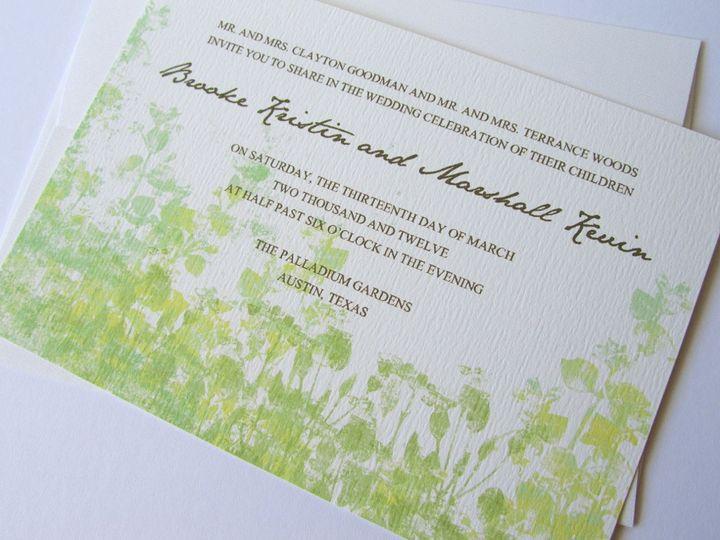 Tmx 1338816512273 Invitea Dallas wedding invitation
