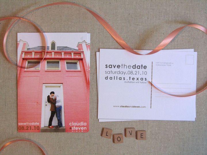 Tmx 1338816543237 Claudiasteven2 Dallas wedding invitation