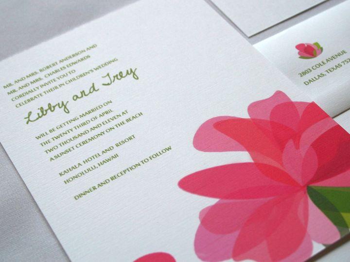 Tmx 1338816624804 INVITE Dallas wedding invitation