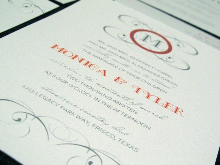 Tmx 1338816664265 5 Dallas wedding invitation