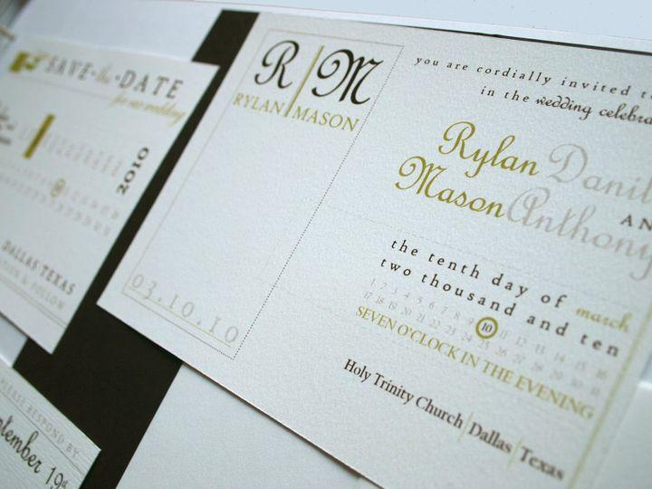 Tmx 1338816713804 Invite Dallas wedding invitation