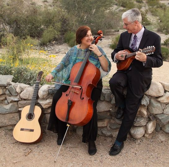 Ocotillo enjoys playing on mandolin, cello and guitar.