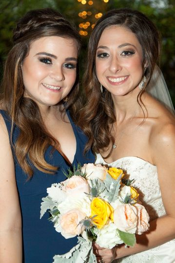 Bride with her friend
