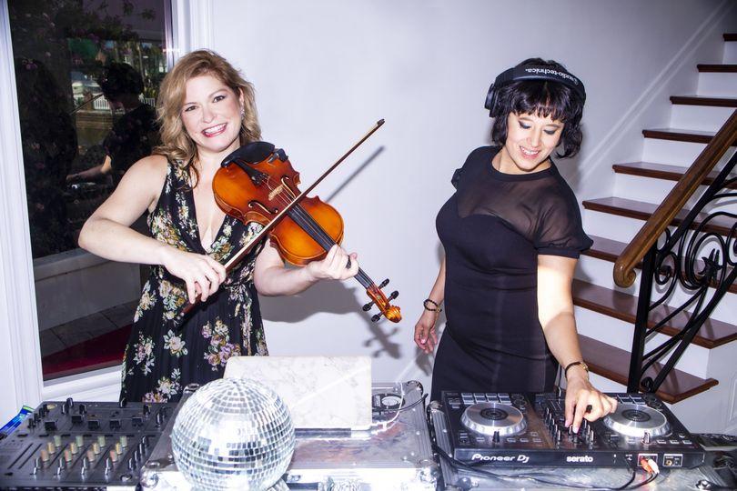 DJ & Violin Duo