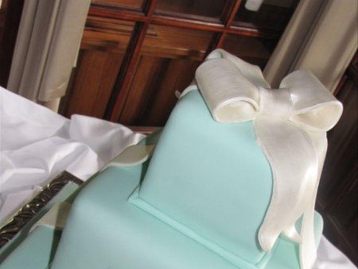 Tmx 1305771521198 MonogrammedTiffanyBoxes1 Orlando, FL wedding cake
