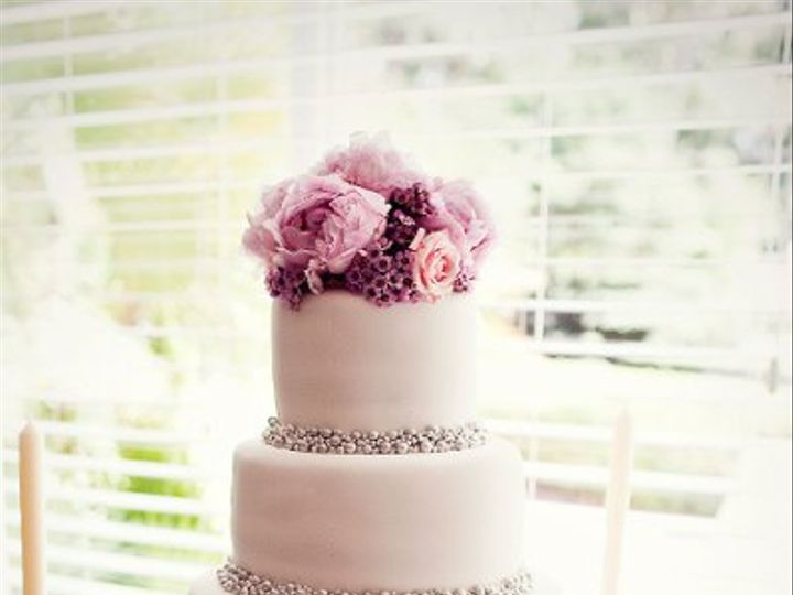 Tmx 1305771717448 SilverDrageeFullshot Orlando, FL wedding cake