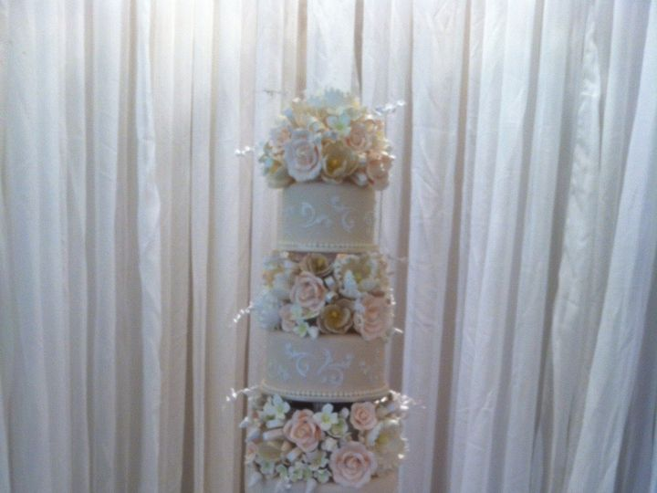 Tmx 1379966709671 Ocala Cake 3 Orlando, FL wedding cake