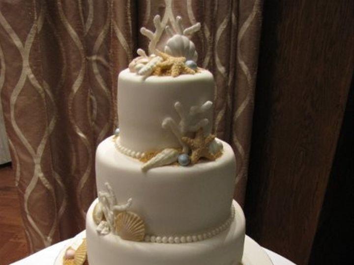 Tmx 1392736743657 Beachybluebubbl Orlando, FL wedding cake