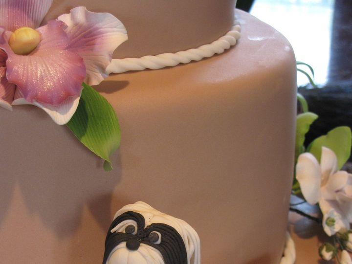 Tmx 1393084003693 Chacha Anniversary Cake Pupp Orlando, FL wedding cake