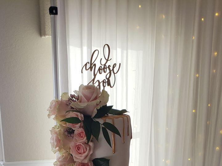 Tmx 1526339185 Dd75ca3797e110c7 1526339183 Fbba01069f8dcc5c 1526339181307 8 Blush Watercolor D Orlando, FL wedding cake