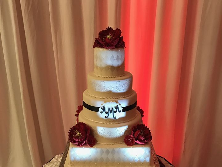 Tmx 1534453884 Ae44e246d1ad00d2 1534453883 97f9f1b1ce9aca93 1534453879221 5 Estrella Wedding C Orlando, FL wedding cake