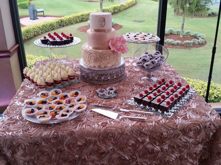 Tmx 1534457236 F2f321d5c225a816 1534457233 5ac019f47c7bc3f2 1534457232360 3 Dessert Station Wi Orlando, FL wedding cake