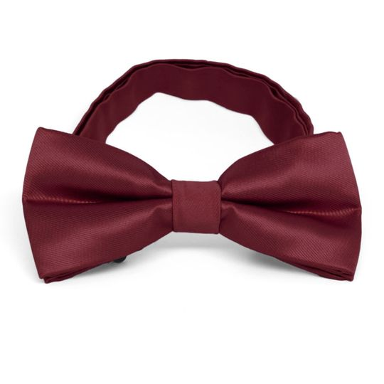 Red colored bow tie