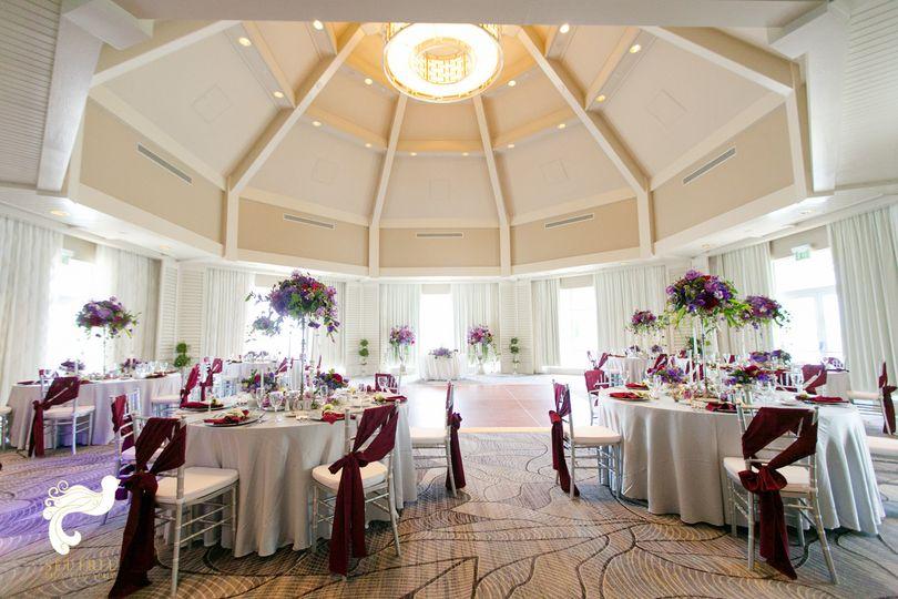island ballroom sashes