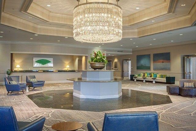 palm garden foyer