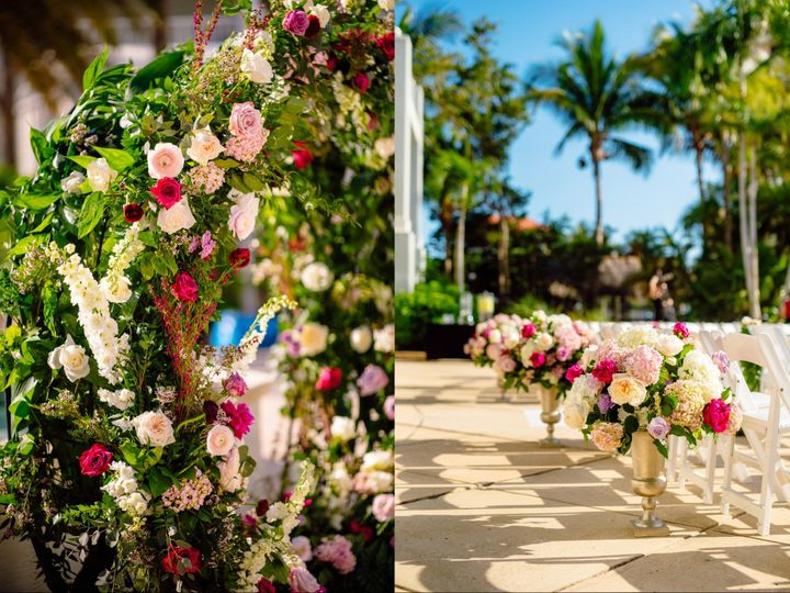Tmx Palms Pool Deck Ceremony4 51 6805 158464508745846 Fort Myers, Florida wedding venue