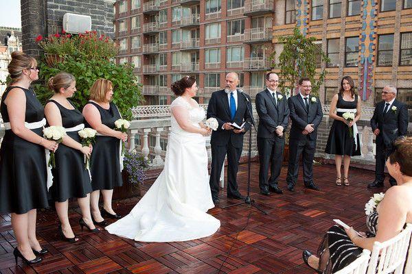 Manhattan rooftop vows