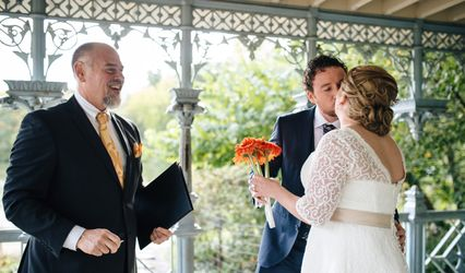 Our Wedding Officiant NYC 1
