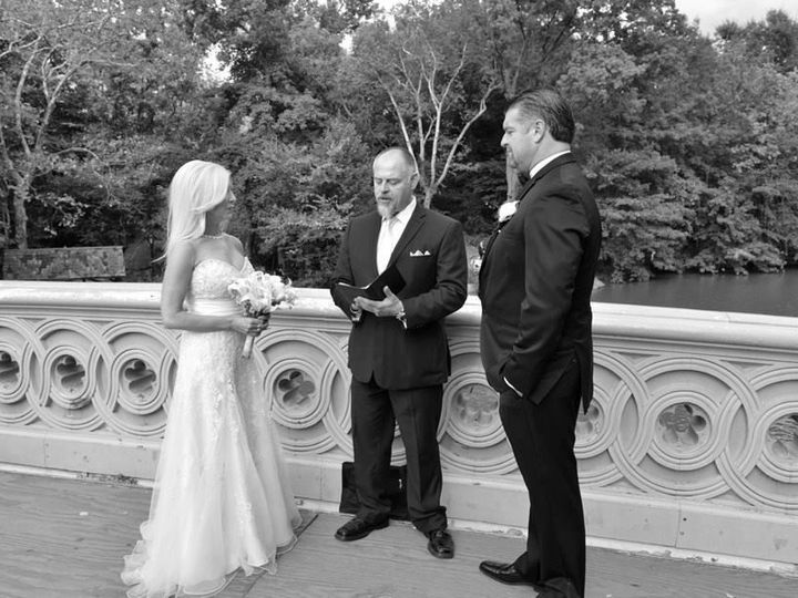 Tmx 1533921835 06586daf3b3e7d70 1533921834 63ebdc1c7d5f199f 1533921832931 1 Bow Bridge New York, NY wedding officiant