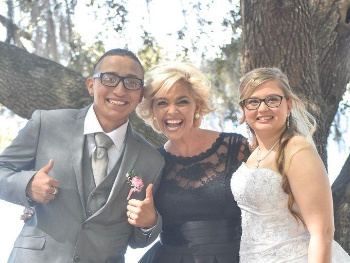 Tmx 5 Posed With Bg 51 1027805 1555537733 Lakeland, FL wedding officiant